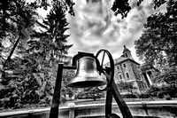 Old Main Bell - B&W High Structure